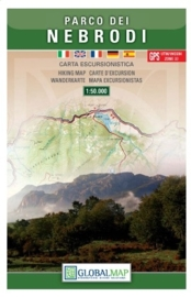 Wandelkaart Monti Nebrodi | Global Maps | 1:50.000 | ISBN 9788879145053