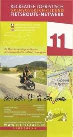 Sportoena fietskaart 11 Tussen Luik en Namen | Fietsroute-Netwerk | ISBN 9789078976011