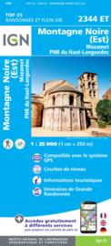 Wandelkaart Mazamet, St-Amans-Soult / Montagne Noire est  | Languedoc | IGN 2344ET - IGN 2344 ET | ISBN 9782758543015
