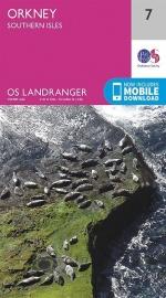 Wandelkaart Orkney  Southern Isles | Ordnance Survey 7 | ISBN  9780319261057
