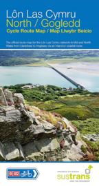 Fietskaart Wales - Lon Las Cymru North | Sustrans | ISBN 9781910845493
