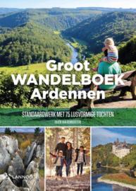 Wandelgids Ardennen - Groot wandelboek Ardennen   Lannoo   ISBN 9789401466509