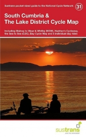 Fietskaart South Cumbria & The Lake District | Sustrans Cycle Map 31 | ISBN 9781910845585