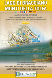 Wandelkaart Lago di Bracciano - Lazio | Global Map | 1:40.000 | ISBN 9788879149983