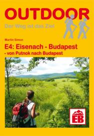 Wandelgids E4 : Putnok - Budapest, Hongarije - Boedapest | Conrad Stein Verlag | ISBN 9783866864689