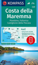 Wandelkaart Costa della Maremma | Kompass 2469 | 1:50.000 | ISBN 9783990444474