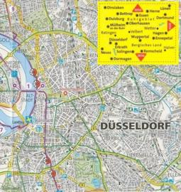 Fietskaart Ruhrgebiet - Bergisches Land | Kompass 3053 | 1:70.000 | ISBN 9783850262743