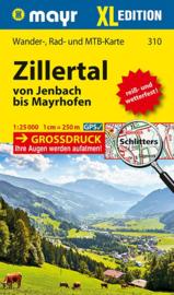 Wandelkaart Zillertal XL - Zillertaler Alpen | Walter Mayr 310 | 1:25.000 | ISBN 9783854914433