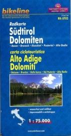 Fietskaart Südtirol, Dolomiten (RK-ST02) Bozen - Bruneck - Eisacktal - Pustertal - Alta Badia | Bikeline - Esterbauer | 1:75.000 | ISBN 9783850003292