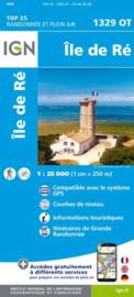 Wandelkaart Ile De Re | Franse Atlantische Kust | IGN 1329OT - IGN 1329 OT | ISBN 9782758541073