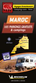 Camperkaart - Wegenkaart  Marokko | Michelin | 1:1 miljoen | ISBN 9782919004515