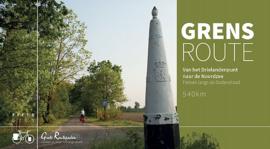 Fietsgids Grensroute Van het Drielandenpunt naar de Noordzee  | Grote Routepaden | ISBN 9789492608079