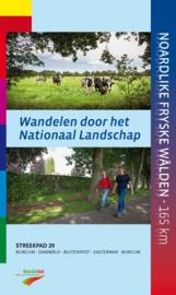 Wandelgids Friesland - Burgum-Damwâld-Buitenpost-Eastermar-Burgum | Wandelnet - Streekpad 20 | ISBN 9789492641021