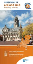 Fietskaart  Zeeland Zuid | ANWB 32 |  1:66.666 | ISBN 9789018047337