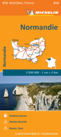 Wegenkaart - Landkaart Normandie 2021 | Michelin 17513 | ISBN 9782067249660
