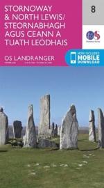 Wandelkaart Stornoway & North Lewis | Ordnance Survey 8 | ISBN 9780319261064