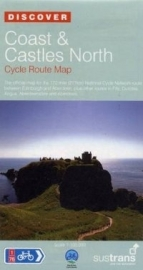 Fietskaart Coast and Castles North : Edinburgh - Aberdeen NN1D NSCR | Sustrans Cycle Routes Map | ISBN 9781901389753
