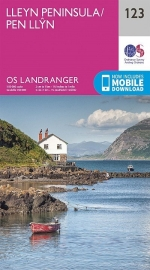 Wandelkaart Ordnance Survey | Lleyn Peninsula 123 | ISBN 9780319262214