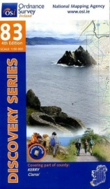 Wandelkaart Ordnance Survey / Discovery series | Kerry 83 | ISBN 9781908852472