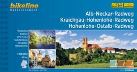 Fietsgids Alb-Neckar-Weg, Kraichgau-Hohenlohe-Radweg, Hohenlohe-Ostalb-Weg - 591 km | Bikeline | ISBN 9783850006996