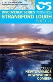 Wandelkaart Strangford Lough| Discovery Northern Ireland 21 - Ordnance survey | 1:50.000 | ISBN 9781905306572