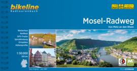 Fietsgids Mosel Radweg - 307 km. | Bikeline | ISBN 9783850008792