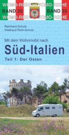 Campergids Zuid Italië : het oosten | WOMO verlag | ISBN 9783869033563