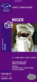Wegenkaart Niger | IGN | 1:2 miljoen | ISBN 3282118502912