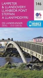 Wandelkaart Ordnance Survey | Lampeter to Llandovery 146 | ISBN 9780319262443