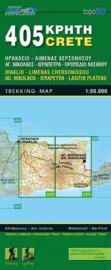 Wandelkaart  Agios - Nikolaos - Ierapetra | Road editions 405 | 1:50.000 | ISBN 9789604489534