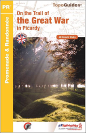 Wandelgids Picardië - On the Trail of the Great War in Picardy | FFRP | ISBN 9782751408779