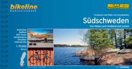 Fietsgids Zweden - Südschweden : Van Skåne naar Småland en terug - 625 km. | Bikeline  | ISBN 9783850007757