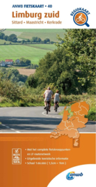 Fietskaart Zuid Limburg   ANWB 40    1:66.666   ISBN 9789018047412