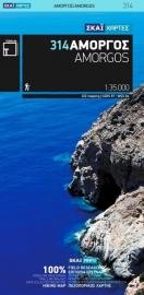 Wandelkaart  Amorgos | Terrain Maps 314 | 1:35.000 | ISBN 9789606845987