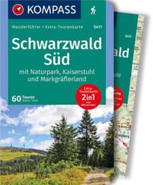 Wandelgids Schwarzwald Süd | Kompass 5411 | ISBN 9783990449035