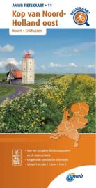 Fietskaart  Kop van Noord-Holland oost | ANWB 11 |  1:66.666 | ISBN 9789018047122