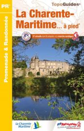 Wandelgids La Charente Maritime á Pied | FFRP | ISBN 9782751410864