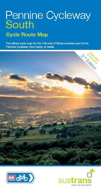 Fietskaart Pennine Cycleway South | Sustrans Cycle Map | 1:110.000| ISBN 9781910845363