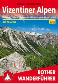 Wandelgids Vizentiner Alpen | Rother Verlag | ISBN 9783763345144