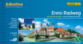 Fietsgids Enns Radweg - 264 km | Bikeline | Fietsen van de Radstädter Tauern naar de Donau |  ISBN 9783850000321
