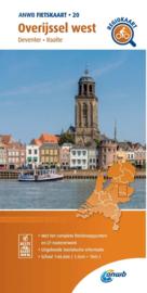 Fietskaart Overijssel west | ANWB 20 | 1:66.666 | ISBN 9789018047214