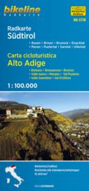 Fietskaart Zuid Tirol - Süd Tirol | Bikeline | 1:100.000 | ISBN 9783850007474