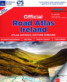 Wegenatlas Ierland - Official Roadatlas of Ireland | Ordnance Survey | ISBN 9781908852830