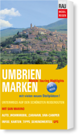 Campergids Umbrië en de Marken | Werner Rau Verlag | ISBN 9783926145765