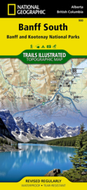 Wandelkaart Banff South National Park | National Geographic 900 | ISBN 9781566956581