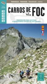 Wandelkaart Carros de Foc - PN Aiguestortes | Alpina | 1:25.000 | ISBN 9788480908641