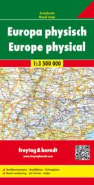 Wegenkaart Europa    Freytag & Berndt   1:3,5 miljoen   ISBN 9783707903027