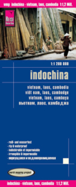 Wegenkaart Indochina | Reise Know How | 1:1,2 miljoen | ISBN 9783831772841