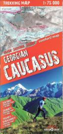 Wegenkaart - Wandelkaart Georgië - Kaukasus - Caucasus | Terraquest | 1:75.000 | ISBN 9788361155355