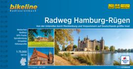 Fietsgids Hamburg - Rügen Radweg - 526 km. | Bikeline | ISBN 9783850009065